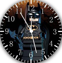 Lego Batman wall Clock 10 will be nice Gift and Room wall Decor W243