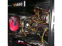 Gaming PC 16GB RAM MSI RX480 Graphics Card free Gaming Keyboard