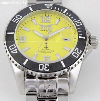 Tresod Mens 300M Ocean Master Sapphire Crystal Ceramic Bezel 24J Automatic Watch