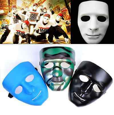 New Scary White Face Halloween Masquerade DIY Mime Mask Ball Party Costume - Scary Halloween Costumes Diy