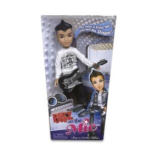 Eitan the Dragon NEW in box Bratz Boyz On the Mic Doll Moxie Boys with guitar