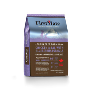 First Mate Cat Food, Dry and Can