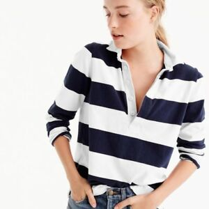 2 NEW J.CREW WOMEN'S RUGBY SHIRTS BOTH FOR $20.00
