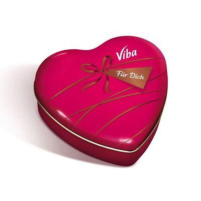 schicke Viba Dose Büchse Für Dich als Herz Herzdose Valentinstag
