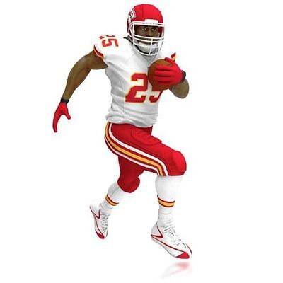 Hallmark Ornament 2015 NFL Kansas City Chiefs Jamaal Charles -