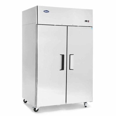 Atosa Mbf8005gr 44.5 Cu.ft 2 Door Top Mount Reach-in Refrigerator Free Lift Gate