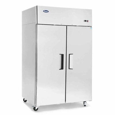 Atosa Mbf8005gr 44.5 Cu.ft 2 Door Top Mount Reach-in Refrigerator Free Lift Gate