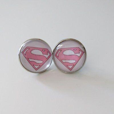 Handmade Superwoman Superman Held Pink Rosa (Rosa Superheld)