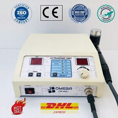 Professional Chiropractic Physiotherapy Ultrasound Therapy Machine 1mhz Machine