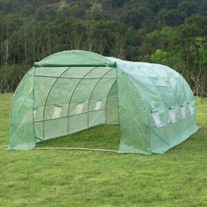 Greenhouse Shed Patio Garden / Large tunnel for Plants flowers Greenhouse