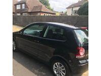 Volkswagen POLO 1.2 3 door black MOT