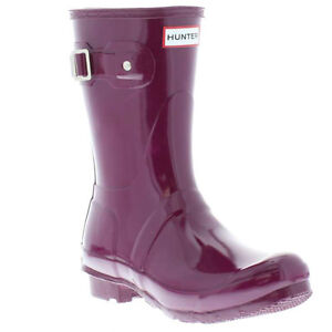 Hunter Wellies Genuine Original Gloss Short Various Colours Womens Size UK 4 - 9