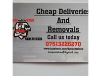 KMP Services Man with Van Removals
