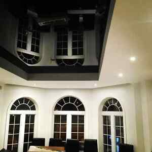 Stretch ceiling, for less than you think! Installers in Montreal