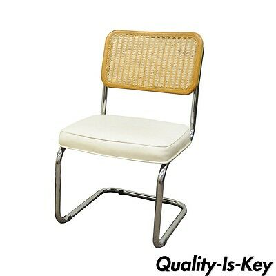 Cesca Breuer Chair Cane Marcel Style Kitchen Dining Italy Mid Century Modern A