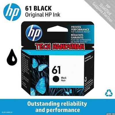 GENUINE SEALED HP 61 (CH561WN) BLACK INK CARTRIDGE.NEW IN BOX -  Retail  Package
