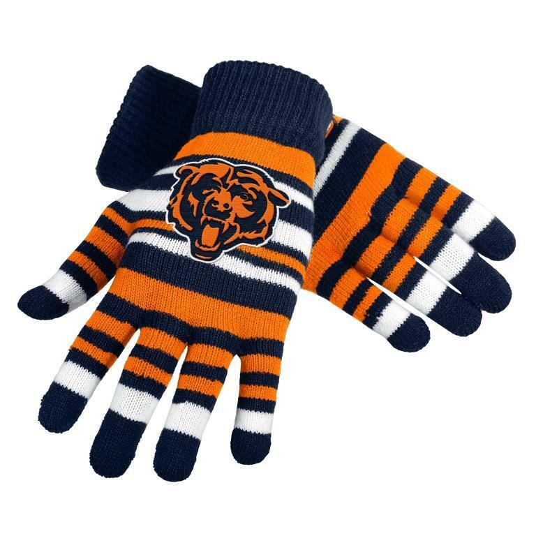 NFL Football Team Logo Stretch Gloves - Pick Your Team!