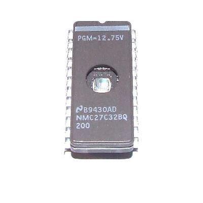 - National NMC27C32BQ-200 FDIP-24W 32 768-Bit USA ship