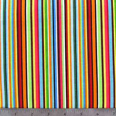 Valance Multi Color Stripe Window Treatment Topper Classroom Bedroom Playroom  - Classroom Curtains