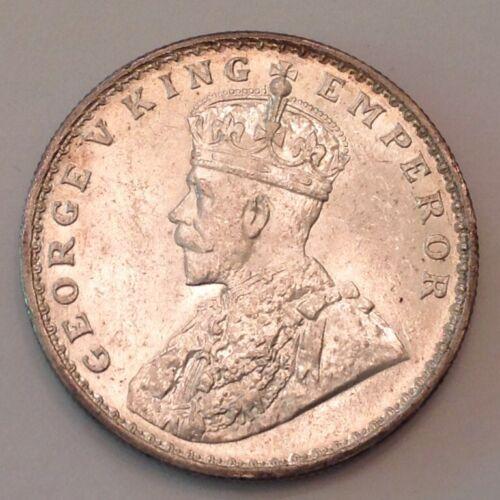~ 1920 C British India George V One Silver Rupee