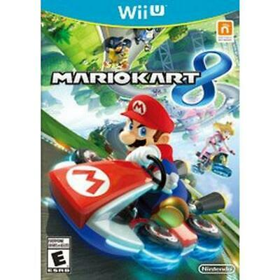 Mario Kart 8 Wii U game.  Case and instructions included.  Tested and works!