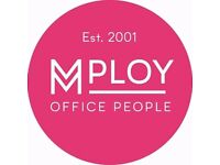 Temporary Receptionist/Admin Assistant