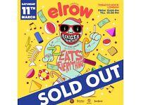 4 x Elrow Tobacco Docks London 11th March Tickets