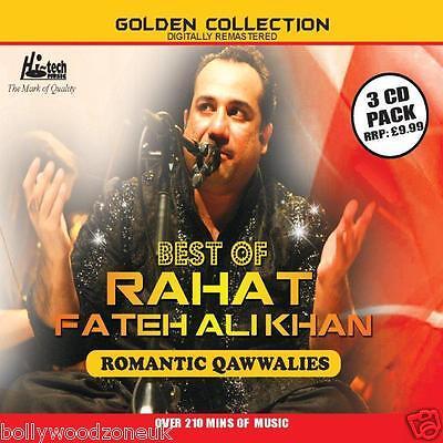RAHAT FATEH ALI KHAN - BEST OF ROMANTIC QAWWALIES 3CD'S