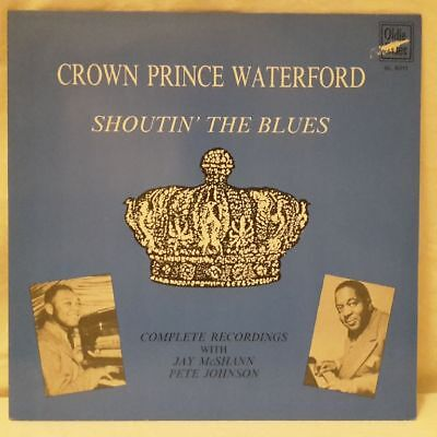 Crown Prince Waterford - Shoutin The Blues - Complete Recordings - Vinyl LP - 1,00 €