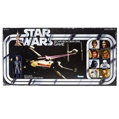 Star Wars Retro Collection Escape From Death Star Board Game