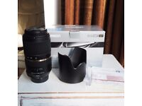 For Nikon - Tamron SP 70-300mm f/4-5.6 Di VC USD zoom lens. As new, unused.