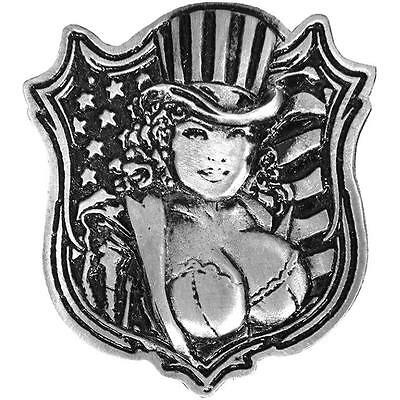 Uncle Sam Pin Up JACKET VEST OUTLAW MC BIKER PIN  -