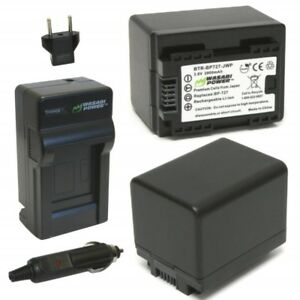 Wasabi Power Battery (2-Pack) and Charger for (See list)