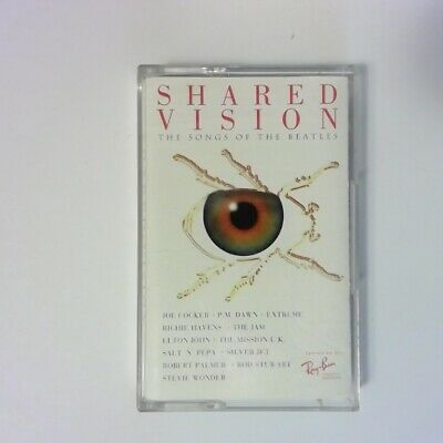 SHARED VISION Ray-Ban Promo Audio Cassette Tape - The Songs of the Beatles