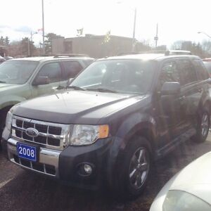 2008 Ford Escape Certified- 4wd Limited Edition Loaded