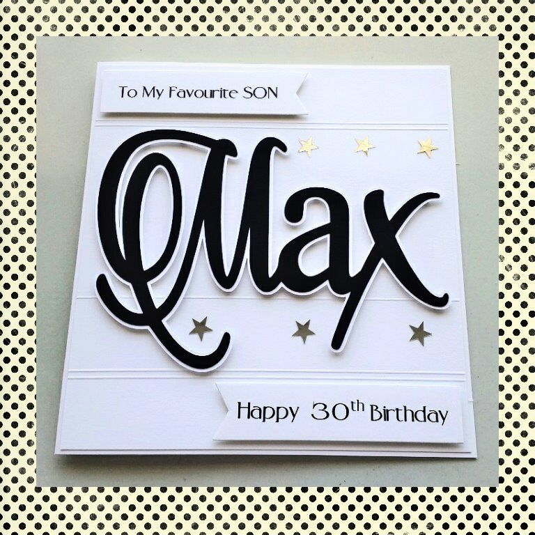 Personalised 18th Birthday Card 21st 30th 40th Son Brother