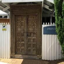 Antique Balinese wooden double entrance doors Dunsborough Busselton Area Preview