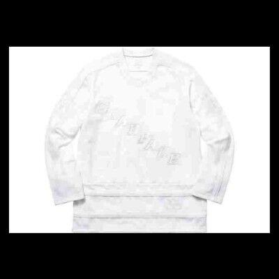 Supreme x Scarface Hockey Jersey FW17 Size XL White New & 100% Authentic FW19