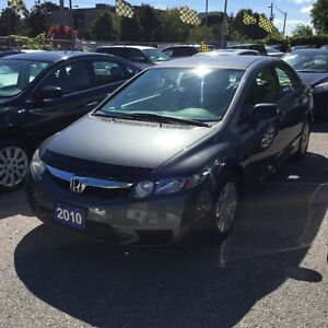 2010 Honda Civic FULLY CERTIFIED- JUST ARRIVED 4 DOOR AUTOMATIC