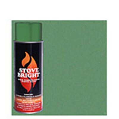 STOVE BRIGHT High Temperature Paint  Green illusion Green Stove Bright Paint