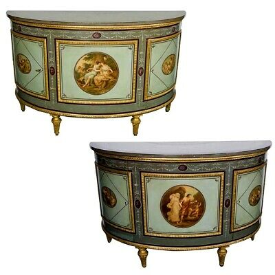 A Wonderful Quality Pair of mid-19th century Antique Cabinets England