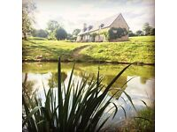 Lovingly Restored 5 Bedroom Mayenne Farmhouse Set in 7 Acres with Lake & Stream