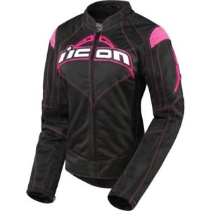 Icon Ladies Motorcycle Jacket