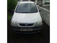 2004 Vauxhall Zafira life