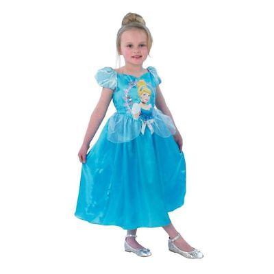 Disney Cinderella Storytime Prinzessin Kostüm Kinderkostüm von Rubies Gr. M, NEU ()