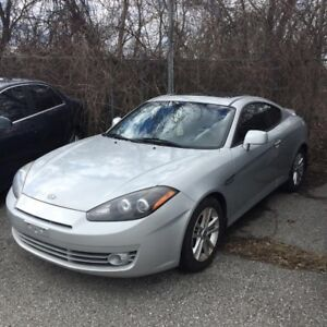 2008 Hyundai Tiburon Pre-Owned Certified- 2+2 Coupe GT-Auto 4 Cy