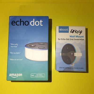 Bianco Amazzonia Eco Pois 2nd Alexa Wireless Intelligente Altoparlante+