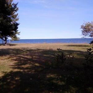 WATERFRONT on Bay de Chaleur in N.B with summer cottage