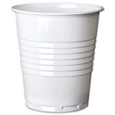 7OZ Squat Vending Cup,Disposable 200ml, Clear for Cold /Hot Drinks ,Pack of 100 7 Oz Hot Cold Cup