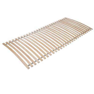 Lattenrost (Lattenrost, Rollrost Rahmenlos 90x200cm, 28 Latten, Birke TOP Qualität )